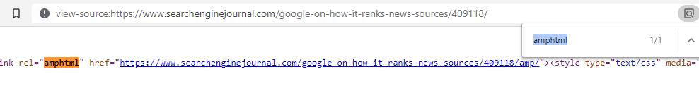 tìm nguồn trang HTML