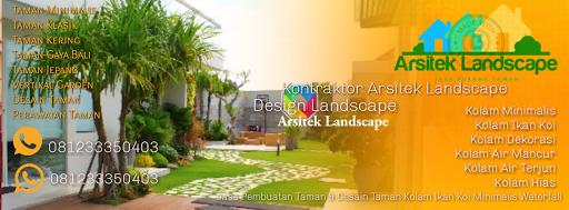 Arsitek Landscape Tukang Taman Gresik Jasa Pembuatan Taman