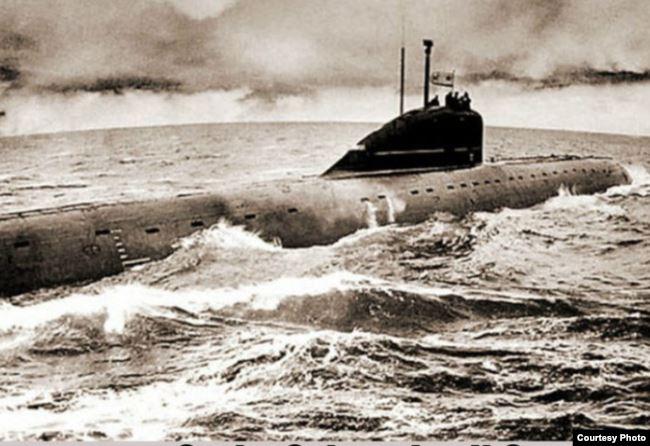 Подводная лодка К-8