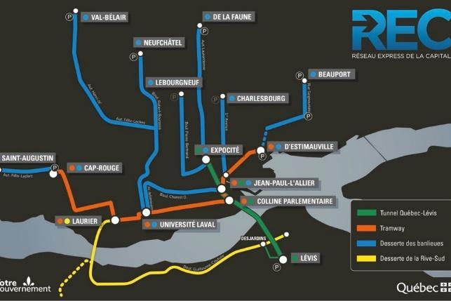 Troisième lien | Le tunnel Québec-Lévis sortira à ExpoCité | La Presse