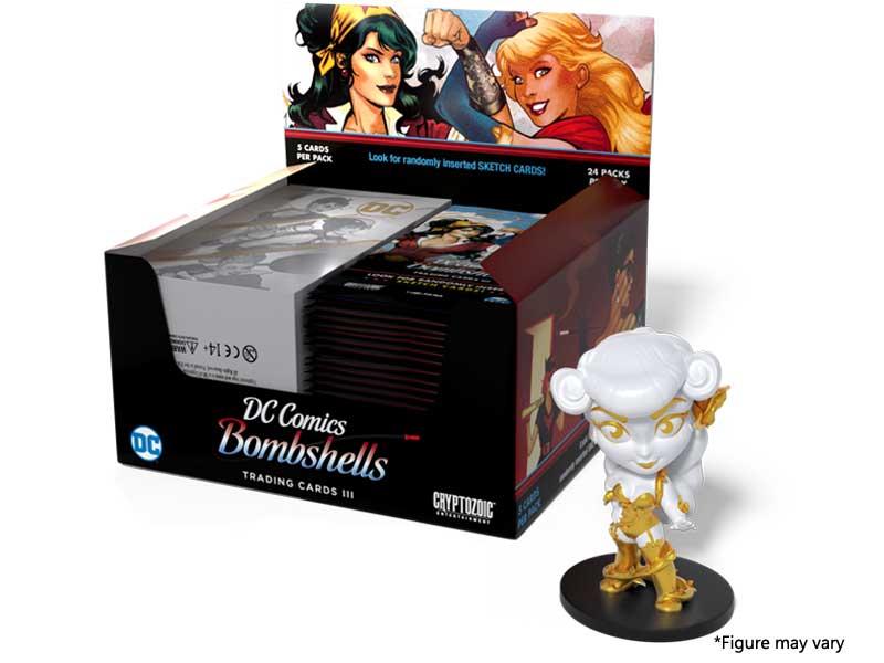 DC Bombshells Trading Cards III - hobby box