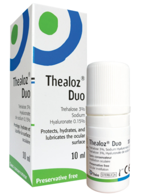 Thealoz-Duo eye drops for dry eyes