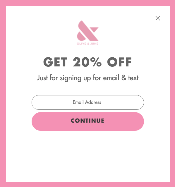 Email Signup Example