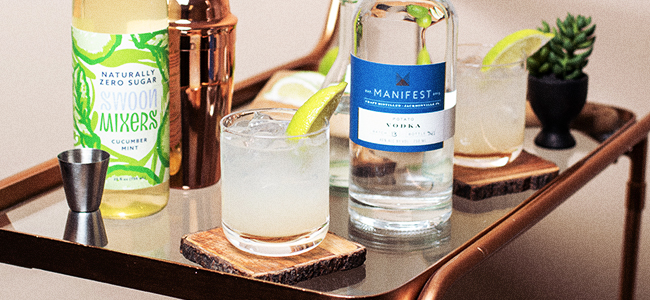 Vodka Spritz, A Keto-Friendly Drink Favorite
