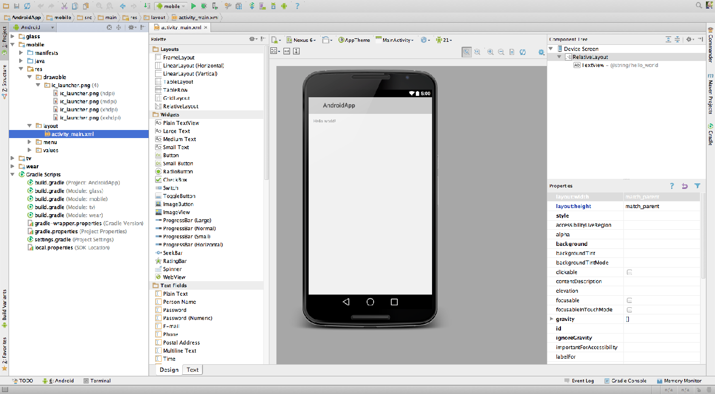 http://developer.android.com/images/tools/studio-helloworld-design.png