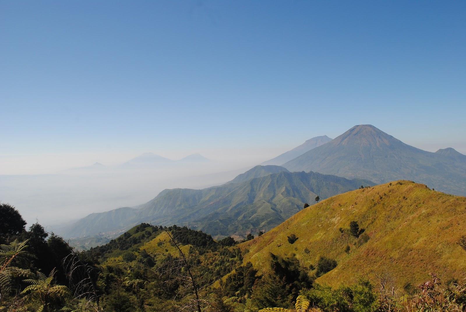 Lembah gunung sindoro