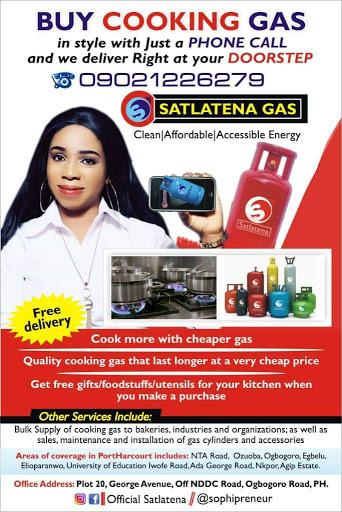 Satlatena Gas Gas Company In Port Harcourt