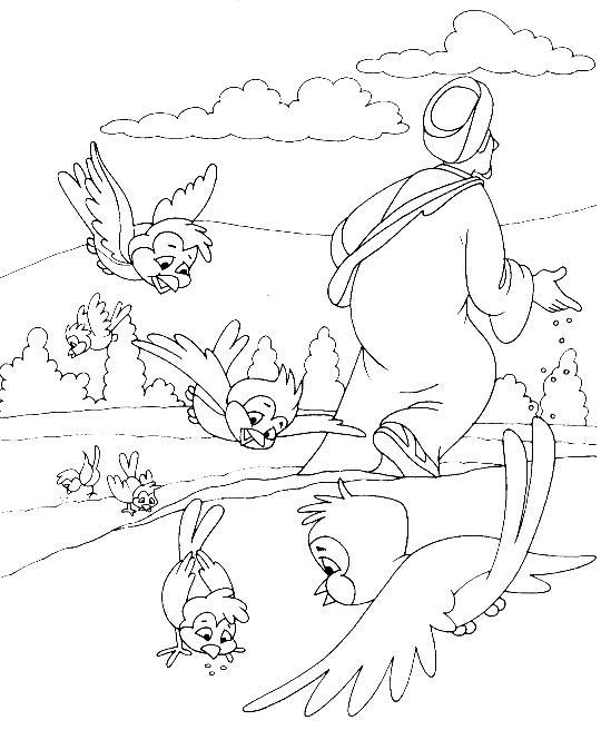 Parábola Del Sembrador Escuela Bíblica Para Niños Gracia
