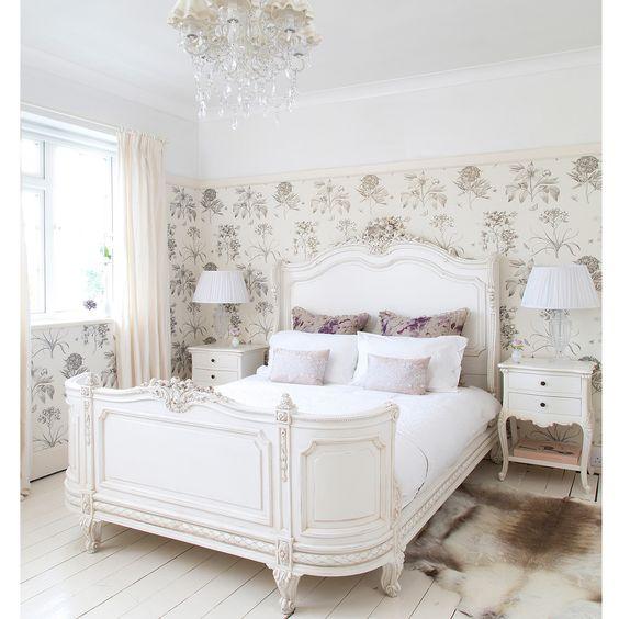 White French Vintage Bedroom