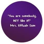 My quote- You are somebody, ACT like it!.jpg
