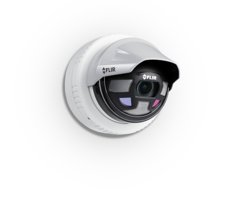 These FLIR cameras would be used for perimeter security and compliance.