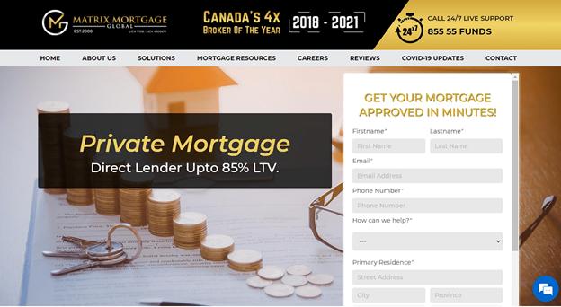 Matrix Mortgage