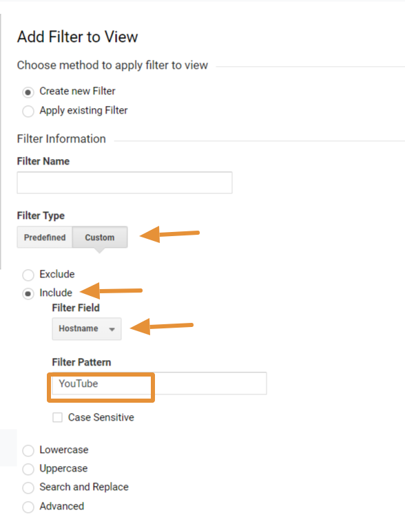 how to connect your YouTube channel to Google Analytics step 5