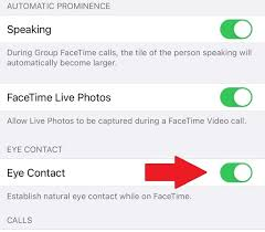 How to fake eye contact on a FaceTime call