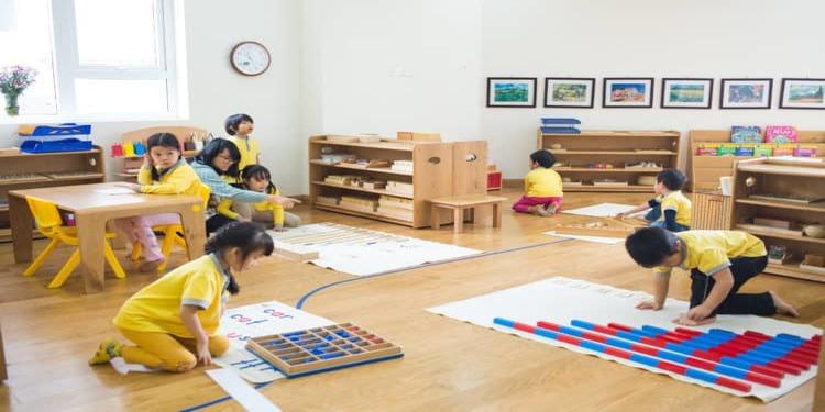 Trung tâm dạy học theo montessori tốt nhất hiện nay.