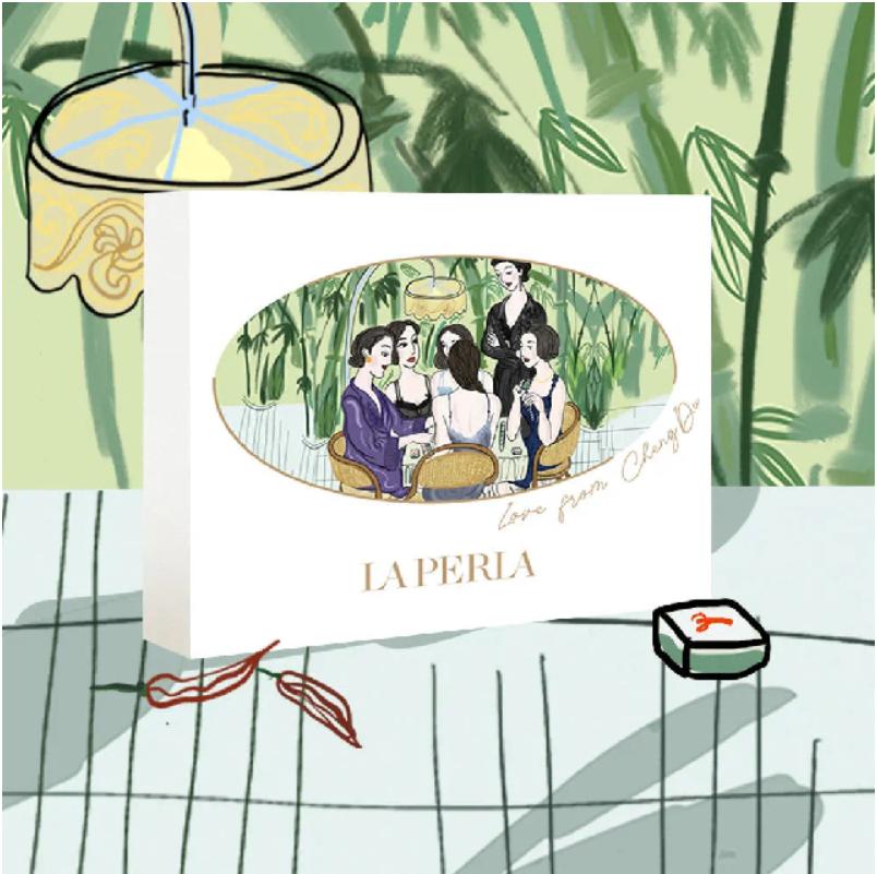 La Perla's successful Qixi campaign artwork