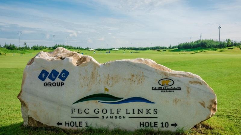 Sân Golf FLC Sầm Sơn - Samson Beach anh Golf Resort