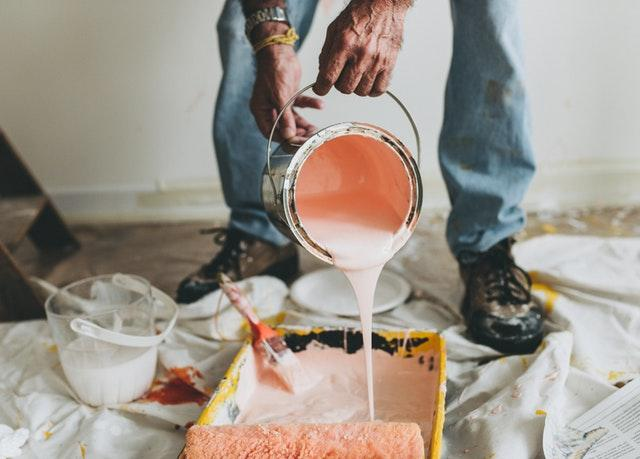You can save money on your kitchen remodel by doing the painting.