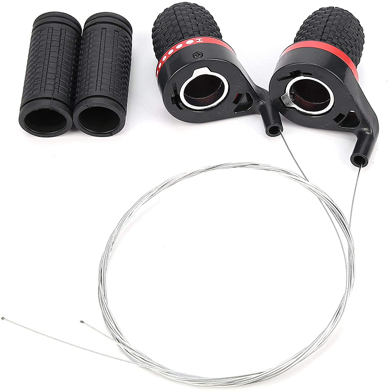 For twist or grip shifters, choose 90 mm mountain bike grips