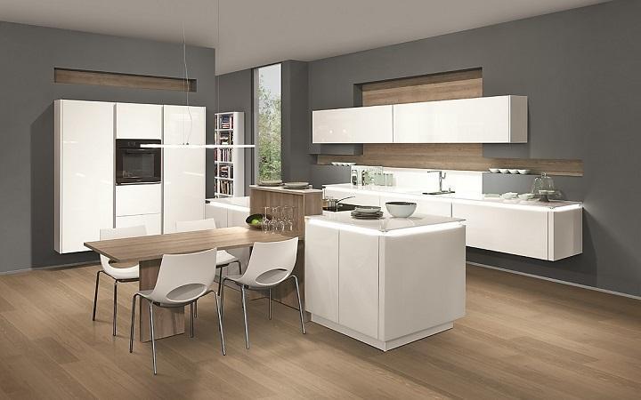 modern magasfényű konyhabútor - dizájnos magasfényű konyhabútor - fényes konyhabútor készítés - magasfényű konyhabútor tervezés