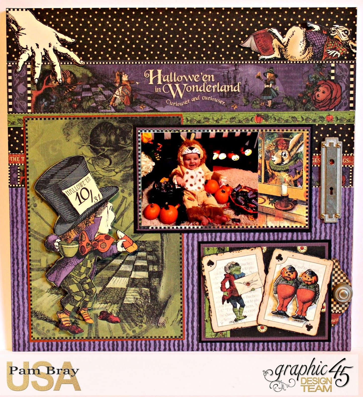 2017 G45 Brand Ambassadors- 2017 Pam Bray  - June 2017 - Halloween in Wonderland Layout - Photo 1_7508.jpg