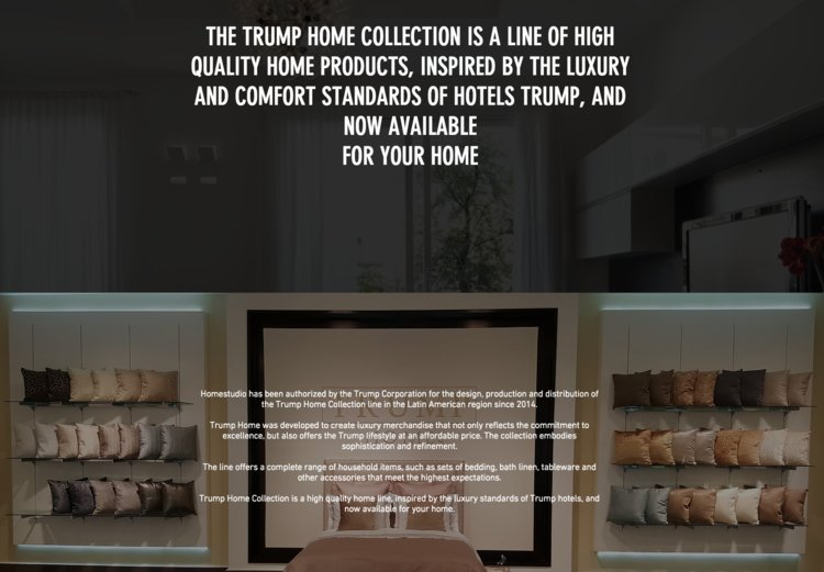 Of the 19 companies that were paying to produce or distribute Trump-branded products in 2015, only two remain doing so: the Turkey-based Dorya and the Panama-based HomeStudio, both of which manufacture Trump Home products.