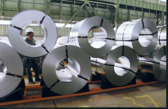 8.5 میلیون تن ، حجم سالانه صادرات فولاد ایران