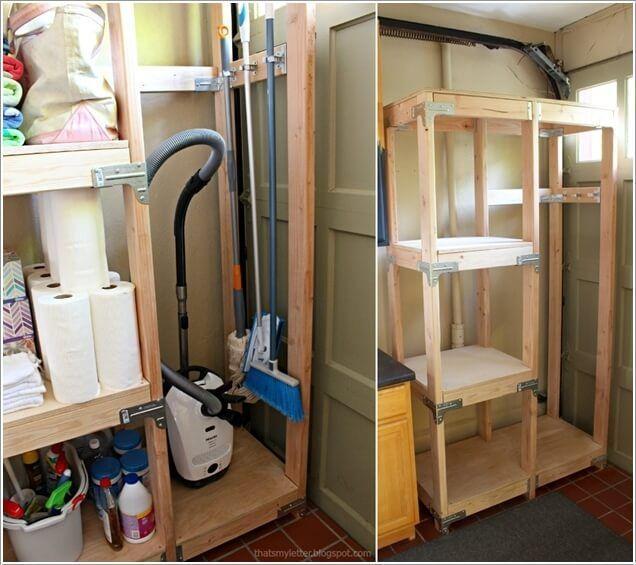 Vacuum Cleaner Storage Ideas | Vacuum cleaner storage, Cleaning storage,  Storage