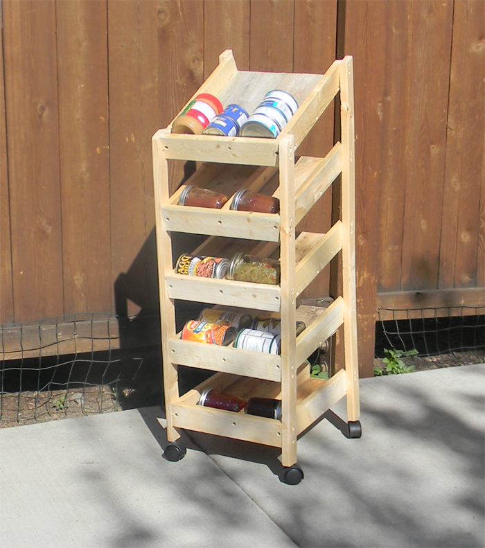 Rotating Can Storage System Ideas for Your Kitchen Pantry