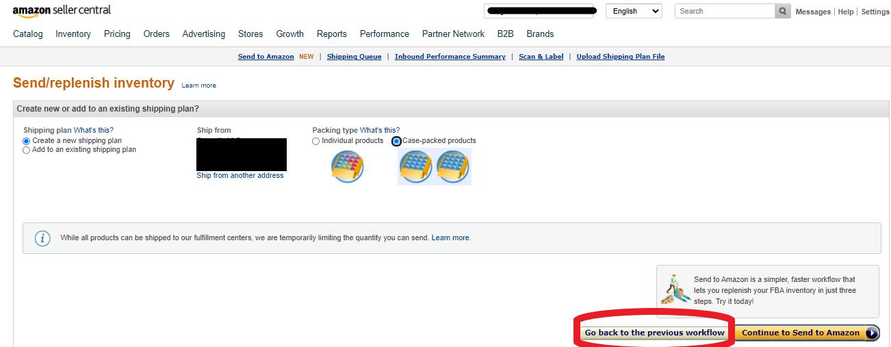 How To Create Amazon FBA Shipments
