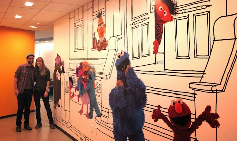 Sesame Workshop HQ in New York