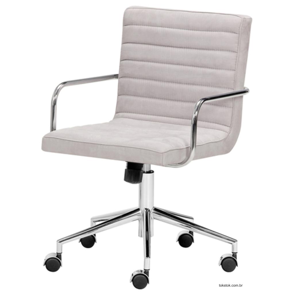 Imagem cadeira revestida em tecido