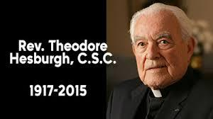Image result for father hesburgh
