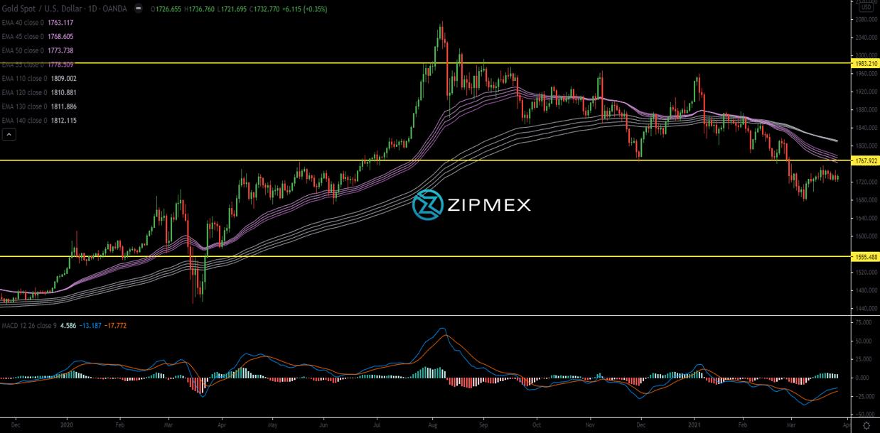 zipmex weekly report chart