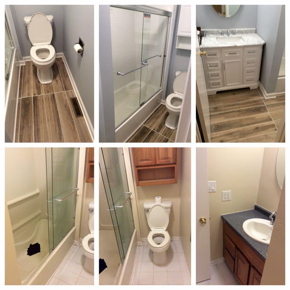 Mr. Handyman bathroom remodeling services