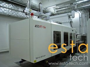 Welltech TTI-450FT-SE (2013) Servo Driven Plastic Injection Moulding Machine