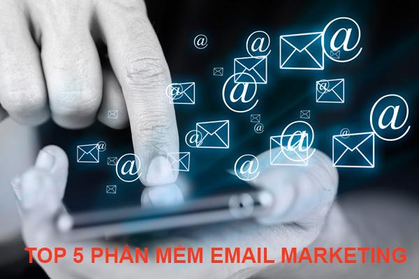 top 5 phần mềm email marketing phổ biến nhất