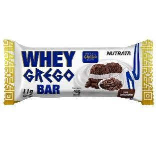 Whey Grego Bar Nutrata Unidade - Brigadeiro - Keep Running Brasil ...