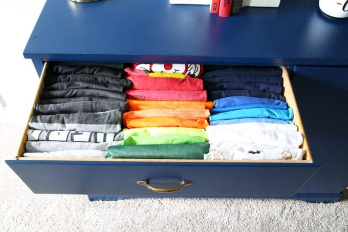 Description: Image result for rolled shirts in drawer