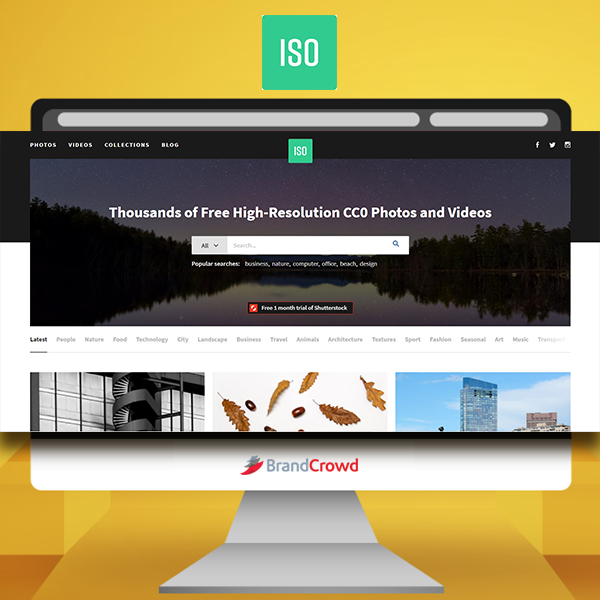 the-photo-features-a-monitor-displaying-the-landing-page-of-iso-republic