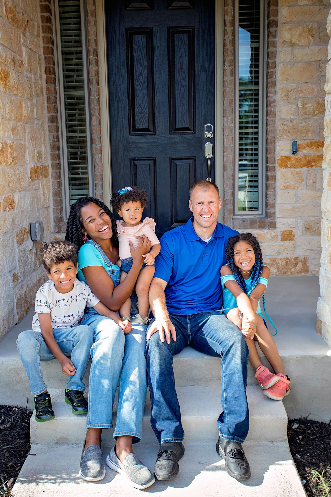 Interracial family of 5. How to avoid college debt.
