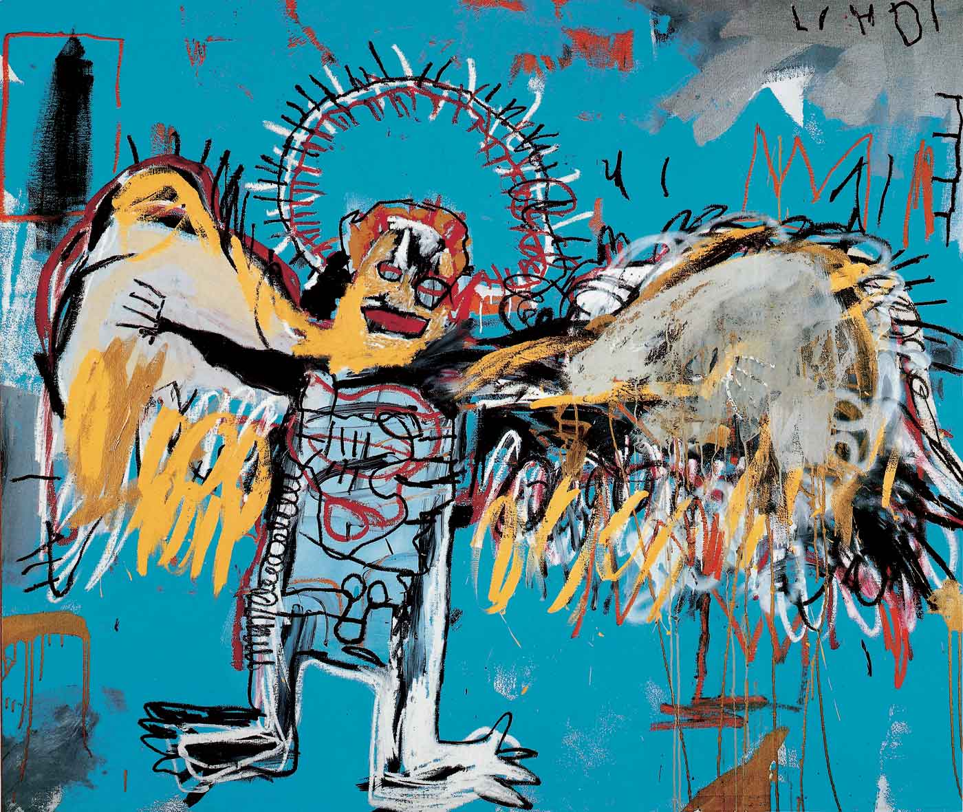 Jean-Michel Basquiat - Untitled (Fallen Angel), 1981