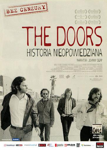 Przód ulotki filmu 'The Doors - Historia Nieopowiedziana'