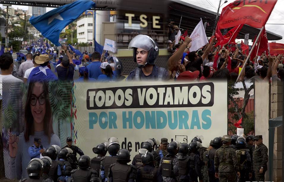 FRAUDE ELECTORAL EN HONDURAS  2017