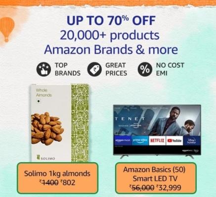 Amazon Great Freedom Sale Amazon Brands