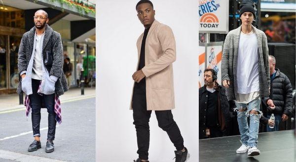 Minimalist cardigan streetwear