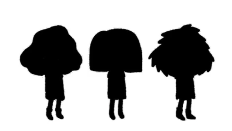 characters in silhouette