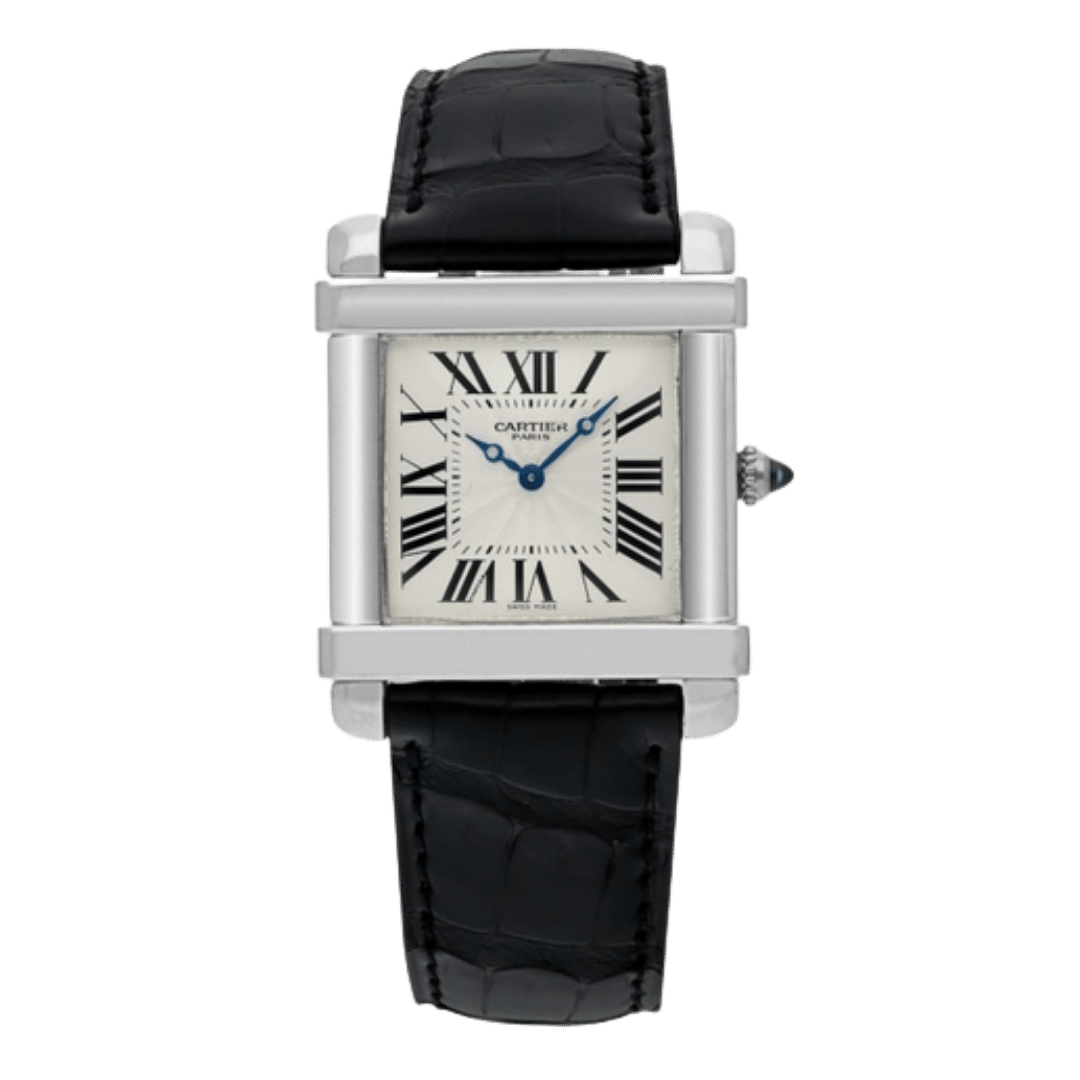 Photo of a Cartier Tank Chinoise watch
