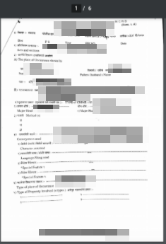 Image of a Police report from the Satara Police Department