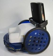 side angle of ROS wheelphone